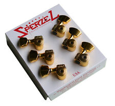 SPERZEL TRIM LOK LOCKING GOLD TUNERS FOR GRETSCH & GIBSON