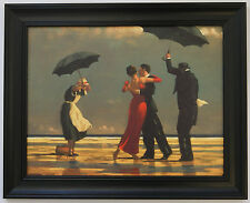 * SPECIAL PRICE* The Singing Butler by Jack Vettriano Framed Canvas Effect Print