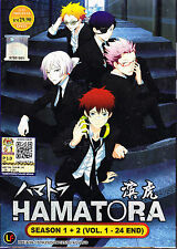 Hamatora Season 1 & 2 DVD (ps : 1 to 24 end) with English Subtitle
