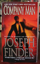 AUTOGRAPHED Joseph Finder thriller COMPANY MAN, mint paperback signed in person!
