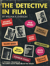 The Detective in Film by William K. Everson-from 1903 to 1972-1st Ed./DJ
