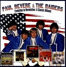 Evolution to Revolution: 5 Classic Albums by Paul Revere & the Raiders (CD,...