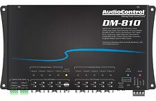 New AudioControl DM-810 Premium 8 Input 10 Output DSP Matrix Processor Digital