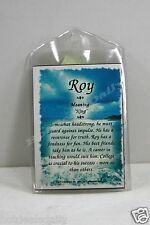 ROY WHAT'S IN A NAME MAGNETS MEANING OF NAME HISTORY OF NAME AND ATTRIBUTES