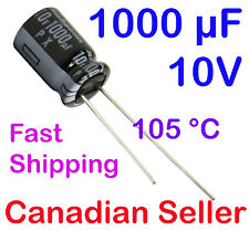 2pcs 1000uF 10V 8x11.5mm 105C Rubycon PX 20000 Hours For LCD TV LED DVD PC AUDIO