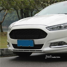 Black honeycomb  Style Front  Grille  Grill for 2013 2014 2015 2016 ford fusion
