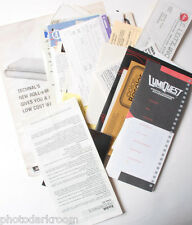 Misc Photo Related Paperwork - Lumiquest Beseler Technal - Owners Registrate B49