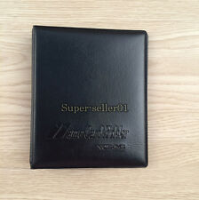 1Pcs New 96 Cards Business Holder Book Name ID Credits Leather Bank Cases Cards