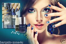 Nails inc London Bling it on Denim & Studs Nail Polish Kit Women Beauty Make up