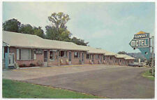 KNOXVILLE TN TEN SUNSET MOTEL US 441 POSTCARD PC3052
