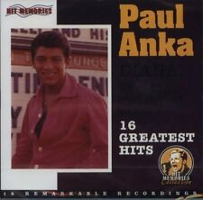 Paul ANKA DIANA - 16 Greatest Hits