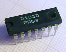 10x D103D Quad 2-Input NAND-Gate With Open Collector Outputs