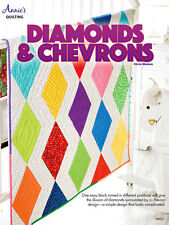 Diamonds & Chevrons One Easy Block Many Designs Annies Quilting Pattern Leaflet