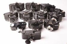 Lot of 12 vintage cameras in Bakelite. Agfa, Coronet, Flashmaster, ...