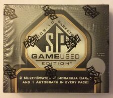 2009-10 SP GAME USED EDITION BASKETBALL UNOPENED SEALED BOX CURRY/ HARDEN