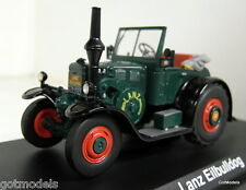 Schuco 1/43 Scale 02865 Lanz Eilbulldog open green diecast model tractor