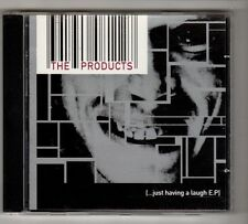(HA763) The Products, Just Having A Laugh EP - 1998 CD