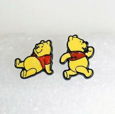 Pooh the winnie bear metal earring ear stud earrings studs one pair new