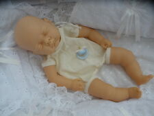 "REBORN BABY -DOLL KIT SLEEPING ""SOFIA"" 18in .sewn in limb + BLUE  DUMMY"