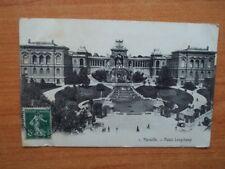 CPA : MARSEILLE Palais Longchamp