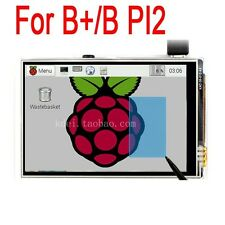 "Raspberry Pi 3 2 B+/B 3.5"" TFT LCD SPI Touch Screen Display Module PI3  Model"