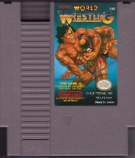 TECMO WORLD WRESTLING CLASSIC ORIGINAL NINTENDO VIDEO GAME SYSTEM NES HQ