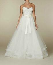 2016 Weiß Spitze Minikleid Hochzeitskleid Brautkleider Abnehmbare Rock A-Linie