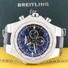 Breitling Bentley Motors GMT V8 Special Edition Chrono Steel A47362 Box&Papers