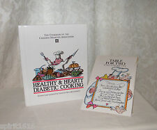 New Healthy & Hearty Diabetic Cooking Cookbook of Canadian Diabetes Table for 2