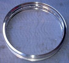 WM2 1.85 X18-40 hole Akront/Italian style flanged alloy motorcycle rim UNDRILLED