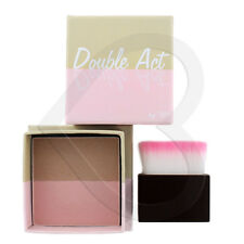 W7 Double Act Bronzer & Blusher/Highlighter Powder 8g