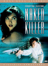 NAKED KILLER MINT DVD~Chingmy Yau~Simon Yam~HONG KONG FEMALE ACTION FLICK