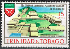 Trinidad and Tobago Architecture St.Augustine University stamp 1965 MNH