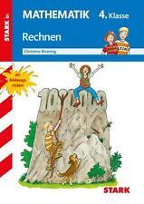 CHRISTINE BRüNING - TRAINING MATHEMATIK 4. KLASSE. RECHNEN BIS 1 MILLION