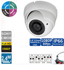 4-IN-1(CVI/TVI/AHD/CVBS) 2.8-12mm Security 1080P In/Outdoor Dome Security Camera