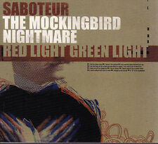 SABOTEUR The Mockingbird / Nightmare / Red Light Green Light CD - New - Digipak