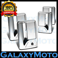 Chrome Door Handle W/ PSG keyhole Cover For 99-16 Ford Super Duty F250+F350+F450