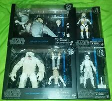 Star wars black series lot wampa luke Skywalker han solo tauntaun boba fett