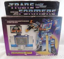 Transformers Original G1 Rub Soundwave Buzzsaw Complete w/ Box