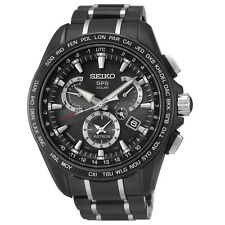 New Seiko Astron Solar GPS Dual-Time Men's Limited Edition Watch SSE065