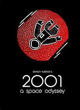 2001 ODISSEA NELLO SPAZIO SPACE ODISSEY MANIFESTO SCIFI FANTASCIENZA KUBRICK