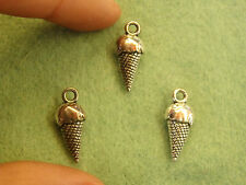 10 ice cream charms pendentifs perles tibétain argent antique tone wholesale