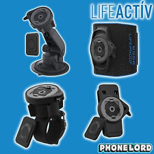 Genuine Lifeproof Lifeactiv Combo 4 Pack Car Bike mount armband belt clip tough