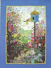 Bird House Watercolor Quilt Kit by Whims Watercolor