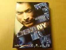3-DISC DVD BOX / CSI: NY - SEIZOEN 4 - AFLEVERINGEN 4.1 - 4.12 ( DEEL 1 )