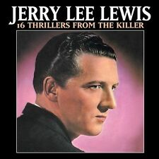 16 Thrillers from the Killer by Jerry Lee Lewis (CD, Jan-2003, Fuel 2000)