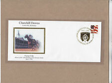 FUNNY CIDE 4x9.5 Stamped Envelope Cover Churchill Downs NEW Kentucky Derby