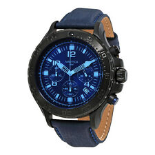 Nautica NST 01 Chronograph Dark Blue Dial Mens Watch NAI21008G