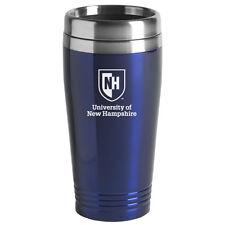 University of New Hampshire - 16-ounce Travel Mug Tumbler - Blue