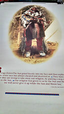 vintage Black Foot Native American Indian Tribe  wall poster PBX3519